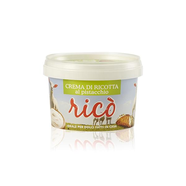 Crema di ricotta al pistacchio