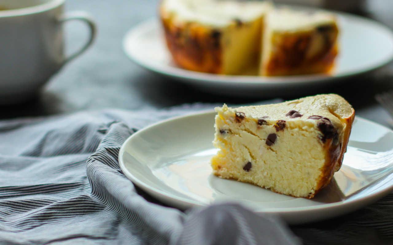 ricetta torta bianconera con ricotta