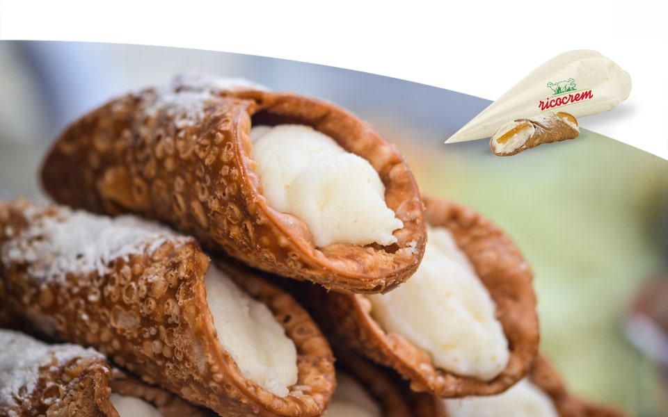 Ricotta di pecora siciliana per dolci horeca