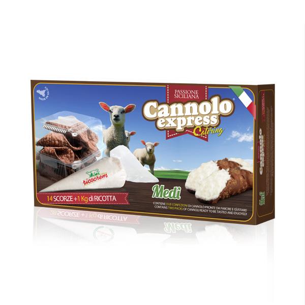 kit farcitura per cannoli siciliani catering