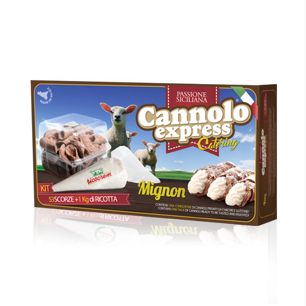 Cannoli siciliani kit surgelati horeca