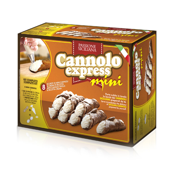 kit per cannoli da fare in casa