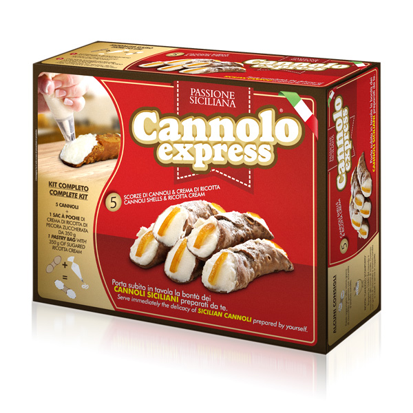 kit cannoli siciliani - ingredienti per cannoli alla ricotta