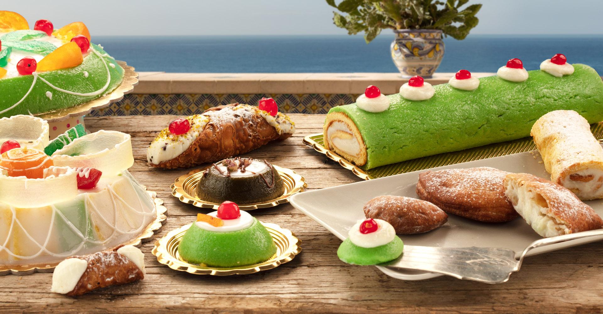 dolci siciliani con ricotta di pecora surgelati