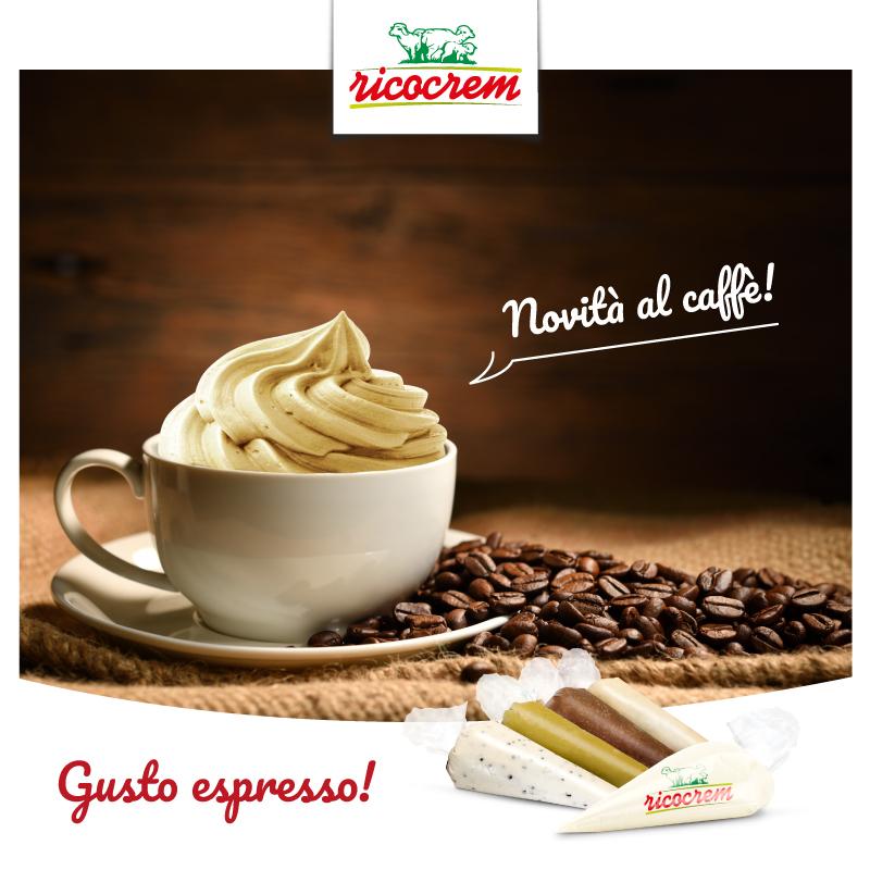 nuovo gusto crema di ricotta al caffè - sac a poche ricocrem