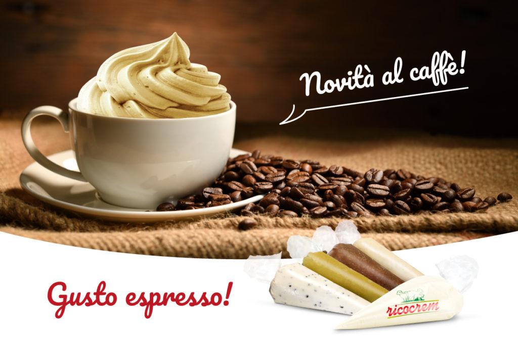 crema di ricotta nuovo gusto al caffè - sac a poche ricocrem