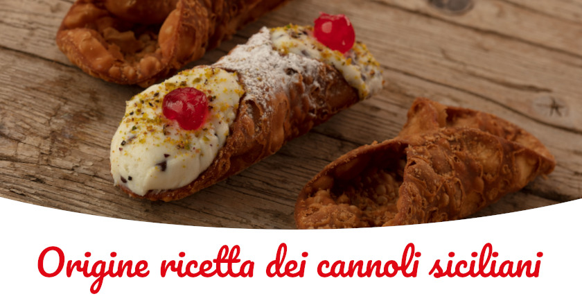 cannoli siciliani origine ricetta