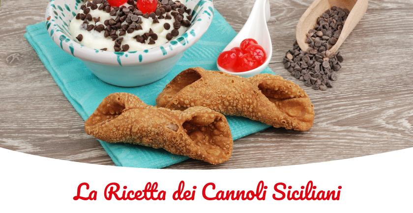 cannoli siciliani ricetta originale