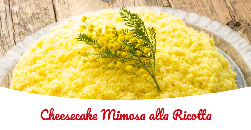 cheesecake alla ricotta torta mimosa
